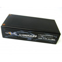 7.4V 5200mAh 100C LiPo battery(94mm)   #TP-5200-100C-2s-94mm