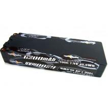 7.4V 6200mAh 100C LiPo battery  #TP-6200-100C-2s