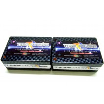 7.4V 6200mAh 80C Saddle Pack LiPo battery   #TP-6200-80C-2s-sd