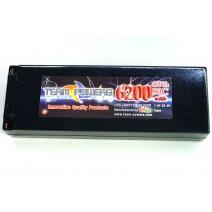 7.4V 6200mAh 90C LiPo battery  #TP-6200-90C-2s