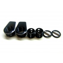 Aluminium Body Height Adjuster for Rear (2pcs) #RO-ABHA-R