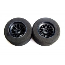 1/10 F-1 Foam Tyre for front -Blue Dot(Med)  #TP-FT-103B