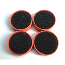 1:10 Tire Insert 40 Deg Orange - 4pcs  #TP-TTI4-40OR