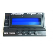 Radon Series Program Card   #TP-Radon-PC