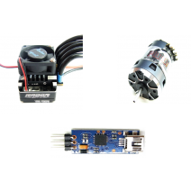 Radon Sport(95A) V2 Speed Control (included USB device) + Plutonium Sensored Brushless motor 10.5T with USB included #TP-Radon/SportV2-C-BLM105100PL