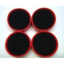 1:10 Tire Insert 30 Deg Red - 4pcs  #TP-TTI4-30R