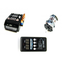 XPS Sport Speed Control V2 - 95A + Plutonium Sensored Brushless motor 9.5T, with LED card included #TP-XPS/Sport-v2-C-BLM095100PL