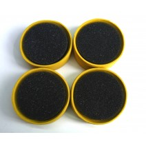 1:10 Tire Insert 35 Deg Yellow - 4pcs  #TP-TTI4-35Y